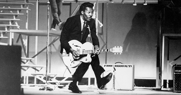 origen del rock and roll, chuck berry